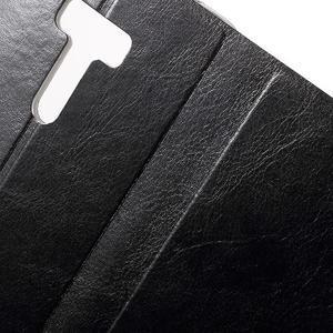 Horse peněženkové pouzdro na Asus Zenfone Selfie ZD551KL - černé - 7