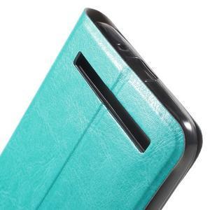 Horse peněženkové pouzdro na Asus Zenfone Selfie ZD551KL - modré - 7