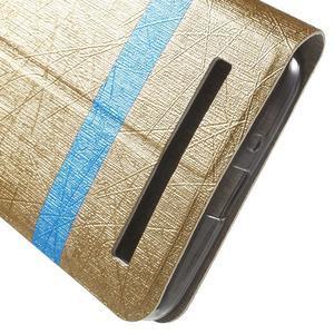 Lines pouzdro na mobil Asus Zenfone Selfie ZD551KL - zlaté - 7