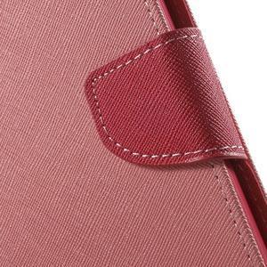 Mr. Goos peněženkové pouzdro na Asus Zenfone Selfie ZD551KL - růžové - 7