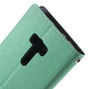 Mr. Goos peněženkové pouzdro na Asus Zenfone Selfie ZD551KL - cyan - 7