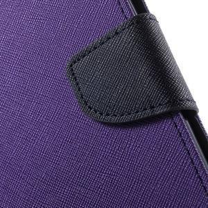 Mr. Goos peněženkové pouzdro na Asus Zenfone Selfie ZD551KL - fialové - 7