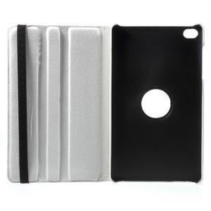Otočné polohovatelné pouzdro na Huawei MediaPad M2 - bílé - 7