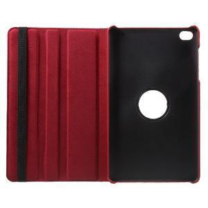 Otočné polohovatelné pouzdro na Huawei MediaPad M2 - červené - 7