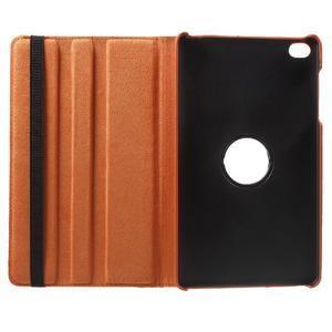 Otočné polohovatelné pouzdro na Huawei MediaPad M2 - oranžové - 7