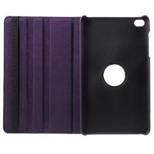 Otočné polohovatelné pouzdro na Huawei MediaPad M2 - fialové - 7