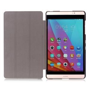 Třípolohové pouzdro na tablet Huawei MediaPad M2 8.0 - henna - 7