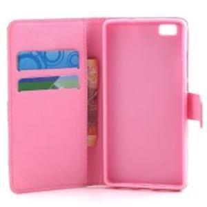 Standy peněženkové pouzdro na Huawei P8 Lite - believe - 7