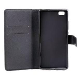 Standy peněženkové pouzdro na Huawei P8 Lite - triangle - 7