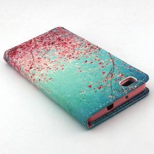 Emotive pouzdro na mobil Huawei P8 Lite - kvetoucí švestka - 7