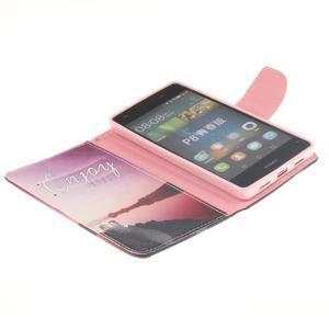 Leathy PU kožené pouzdro na Huawei P8 Lite - užívej - 7