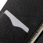 Diary PU kožené pouzdro na mobil Huawei P9 - černé - 7/7