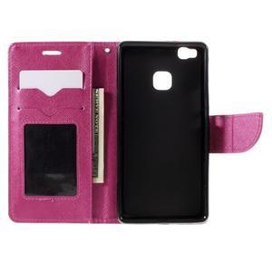Easy peněženkové pouzdro na mobil Huawei P9 Lite - rose - 7