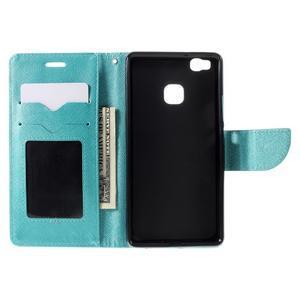 Easy peněženkové pouzdro na mobil Huawei P9 Lite - modré - 7