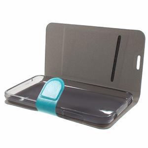 Horse peněženkové pouzdro na mobil Huawei Y5 a Y560 - modré - 7
