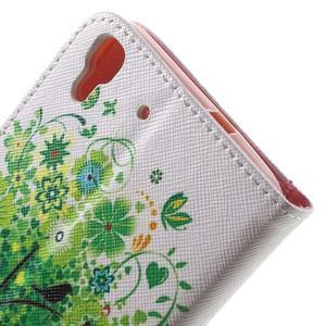 Emotive pouzdro na mobil Huawei Y6 - zelený strom - 7
