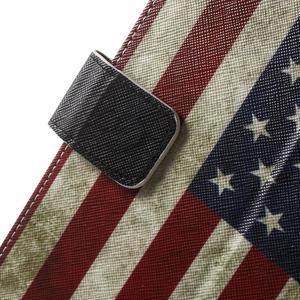 Stylové pouzdro na iPad mini 4 - US vlajka - 7