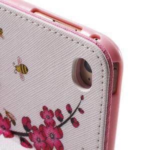 Stylové pouzdro na iPad mini 4 - kvetoucí větvička - 7