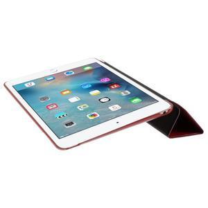Origami polhovatelné pouzdro na iPad mini 4 - červené - 7