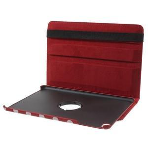 Cyrc otočné pouzdro na iPad mini 4 - červené - 7