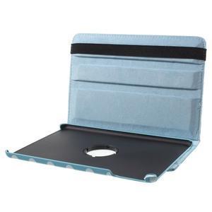 Cyrc otočné pouzdro na iPad mini 4 - světle modré - 7