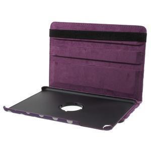 Cyrc otočné pouzdro na iPad mini 4 - fialové - 7