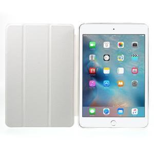 Trifold trojpolohové pouzdro na tablet iPad mini 4 - bílé - 7