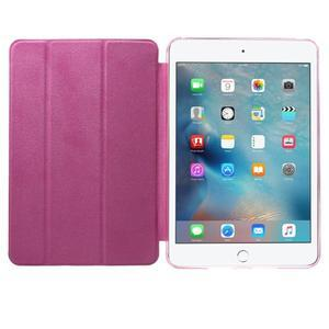 Trifold trojpolohové pouzdro na tablet iPad mini 4 - rose - 7
