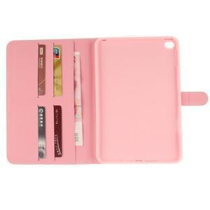 Standy pouzdro na tablet iPad mini 4 - barevná peříčka - 7