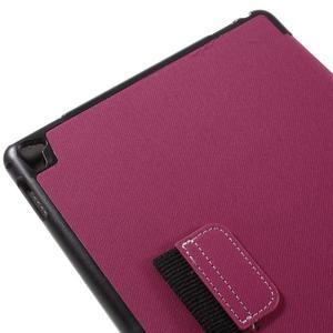 Clothy PU textilní pouzdro na iPad Pro 9.7 - rose - 7