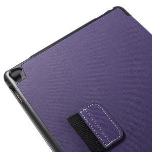 Clothy PU kožené pouzdro na iPad Pro 9.7 - fialové - 7