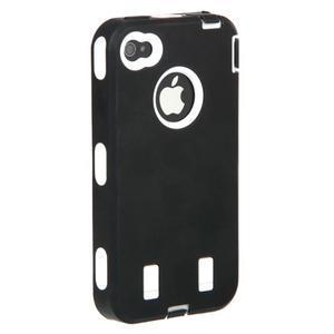 Armor vysoce odolný obal na iPhone 4 - černý - 7