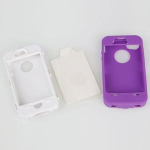 Armor vysoce odolný obal na iPhone 4 - fialový - 7