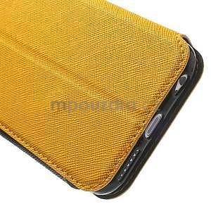 Peněženkové pouzdro s okýnkem na iPhone 6 a 6s - žluté - 7