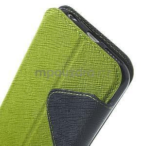Peněženkové pouzdro s okýnkem na iPhone 6 a 6s - zelené - 7
