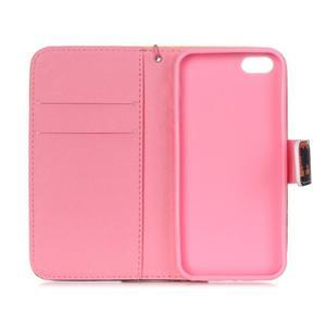 Peněženkové pouzdro na mobil iPhone SE / 5s / 5 - buldog - 7