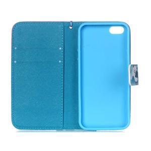 Peněženkové pouzdro na mobil iPhone SE / 5s / 5 - sněžný muž - 7
