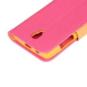 Clothy PU kožené na mobil Lenovo A2010 - rose - 7