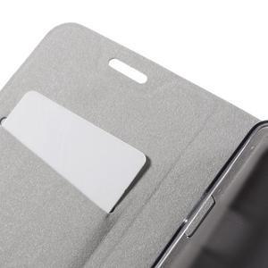 Horse peněženkové pouzdro na Lenovo Vibe P1m - modré - 7