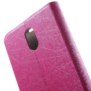 Klopové pouzdro na mobil Lenovo Vibe P1m - rose - 7