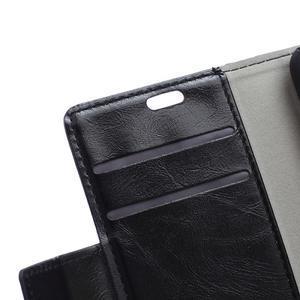 GX koženkové peněženkové na mobil Lenovo Vibe P1m - černé - 7