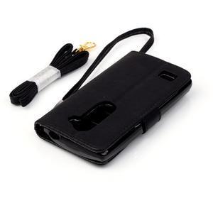 Magicfly pouzdro na mobil LG Leon - černé - 7