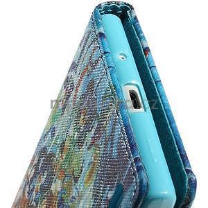 Obrazové peněženkové pouzdro na Huawei Ascend P7 - abstrakt - 7