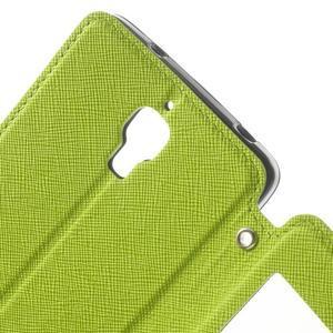 Root pouzdro s okýnkem pro Xiaomi Mi4 - zelené - 7