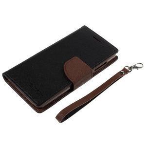 Mr. Fancy peněženkové pouzdro na Xiaomi Mi4 - černé/hnědé - 7