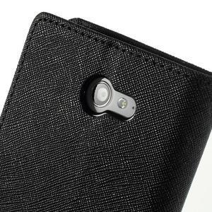 Mr. Goos peněženkové pouzdro na Sony Xperia M2 - černé - 7