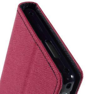Mr. Goos peněženkové pouzdro na Sony Xperia M2 - rose - 7