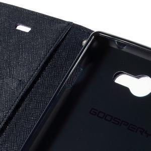 Mr. Goos peněženkové pouzdro na Sony Xperia M2 - fialové - 7