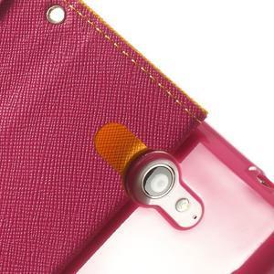 Mr. Goos peněženkové pouzdro na Sony Xperia M2 - žluté - 7