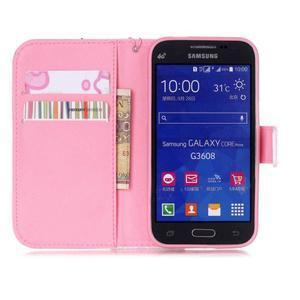 Pictu pouzdro na mobil Samsung Galaxy Core Prime - rty - 7
